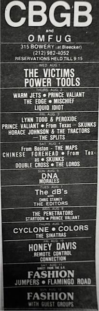CBGB 08-01-79