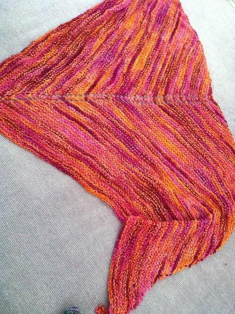 sherbet shawl