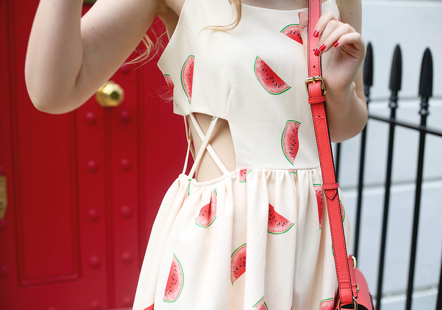 Pepa Loves Watermelon Summer Dress