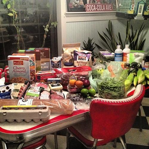 #groceryhaul