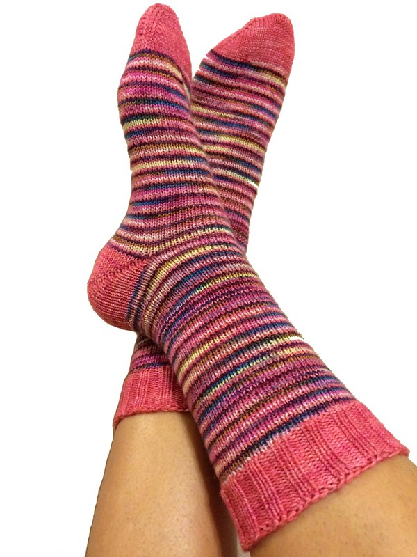Helical Stripe Socks