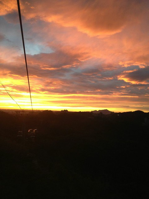 Cable Car Sunset