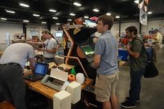 Splatspace at Makerfaire, 2014