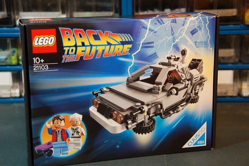 21103 The DeLorean Time Machine (2)