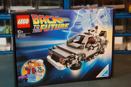 21103 The DeLorean Time Machine (2)