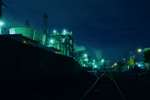 Nightscape at Kawasaki Industrial Zone 19