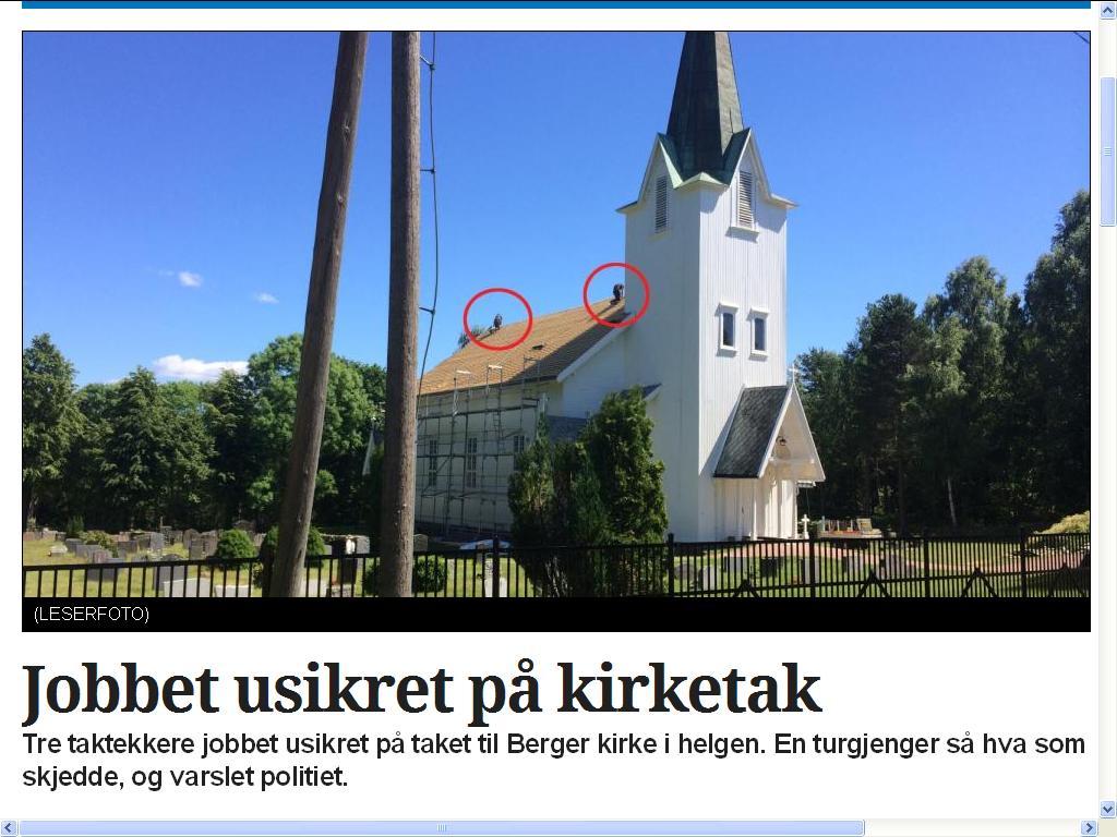 berger kirke blogg