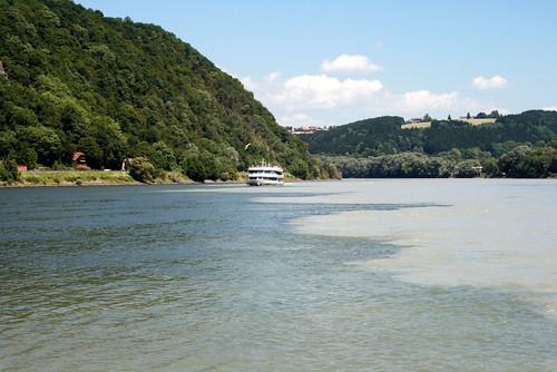 Ortspitze: Donau & Inn