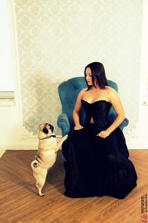 Фотография Дама с собачкой 11