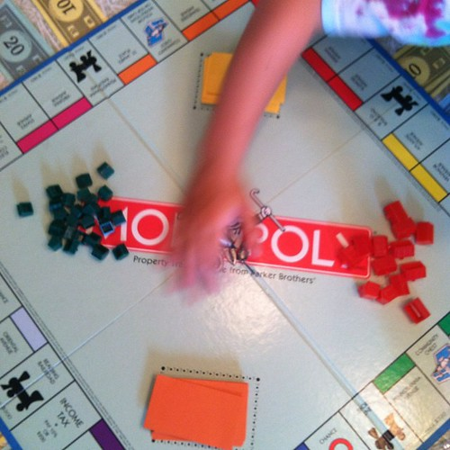 Rainy day? Time for Monopoly.