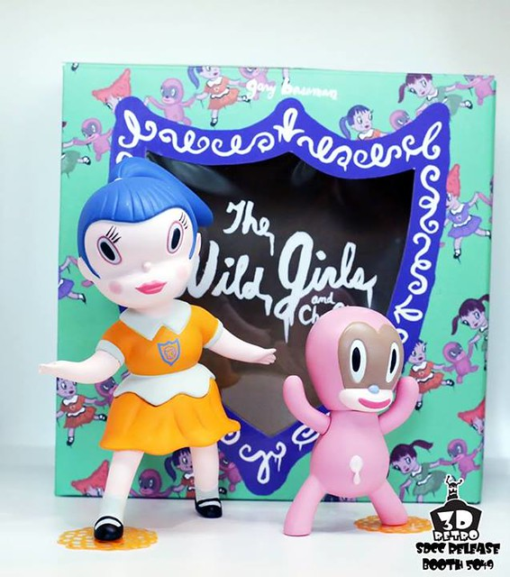 Gary Baseman x 3DRetro 野女孩Beverly OG Edition SDCC限定版