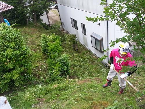 南相馬市小高区でボランティア(援人 2014年 非公式 0620便)