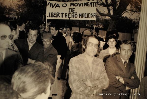 15 - 25 апреля 1974 года - революция гвоздик в Португалии - Каштелу Бранку
