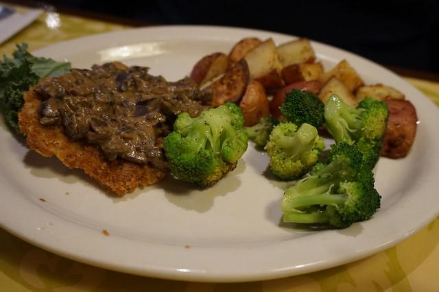 Vegan Schnitzel at Green Owl