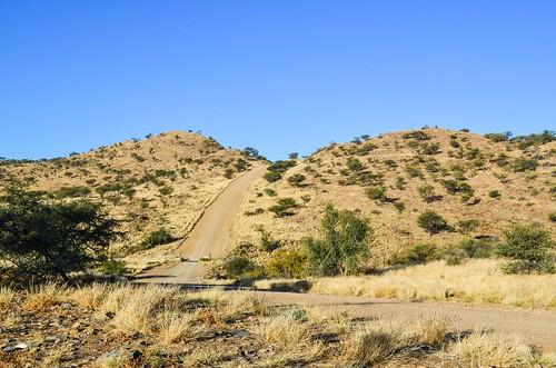 C28 road, halfway between Swakopmund and Windhoek