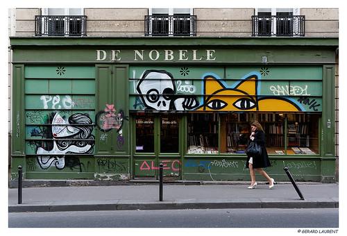 """Paris, Rue de Bonaparte from the book """"Tropico del Cancro"""" by Henry Miller"""