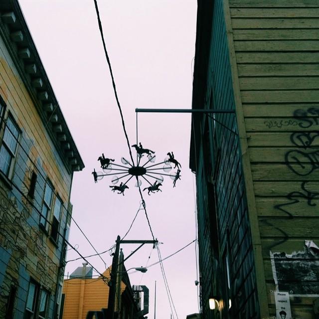 Muybridge in Clarion Alley.