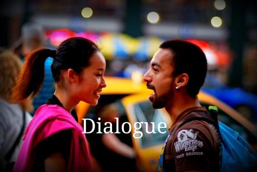 Dialogue, Nihaohello.blogspot.com