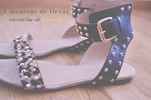 4 maneras de llevar sandalias de leopardo