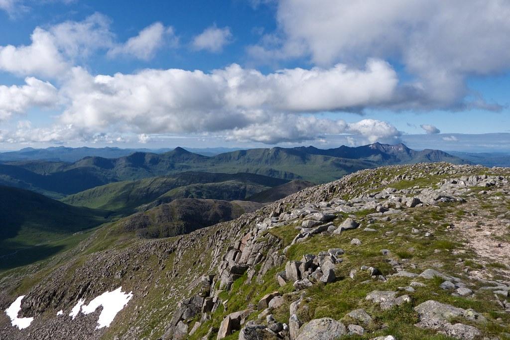 Ben Cruachan massif from Ben Starav