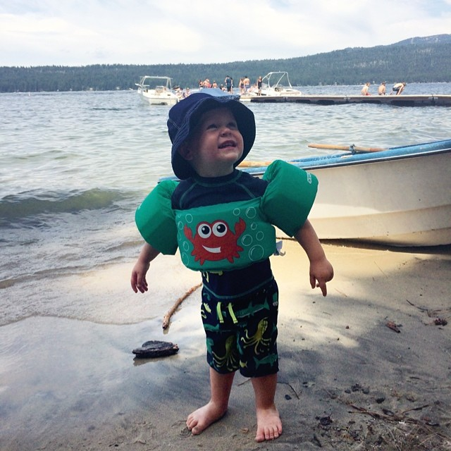 How we're spending our holiday weekend. Happy 4th everyone! #mccall #idaho #payettelake
