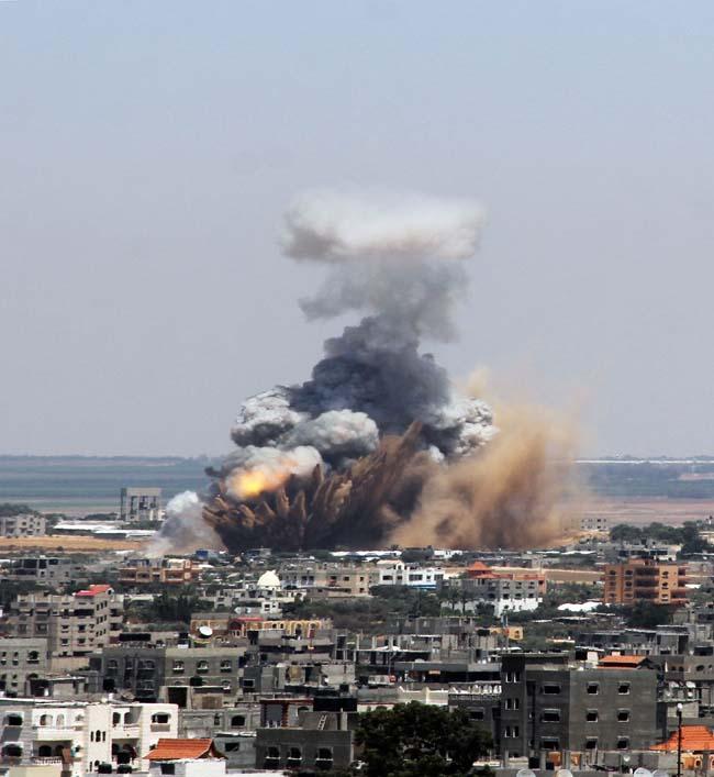 (8)MEDIO ORIENTE-GAZA-SEGURIDAD-CONFLICTO