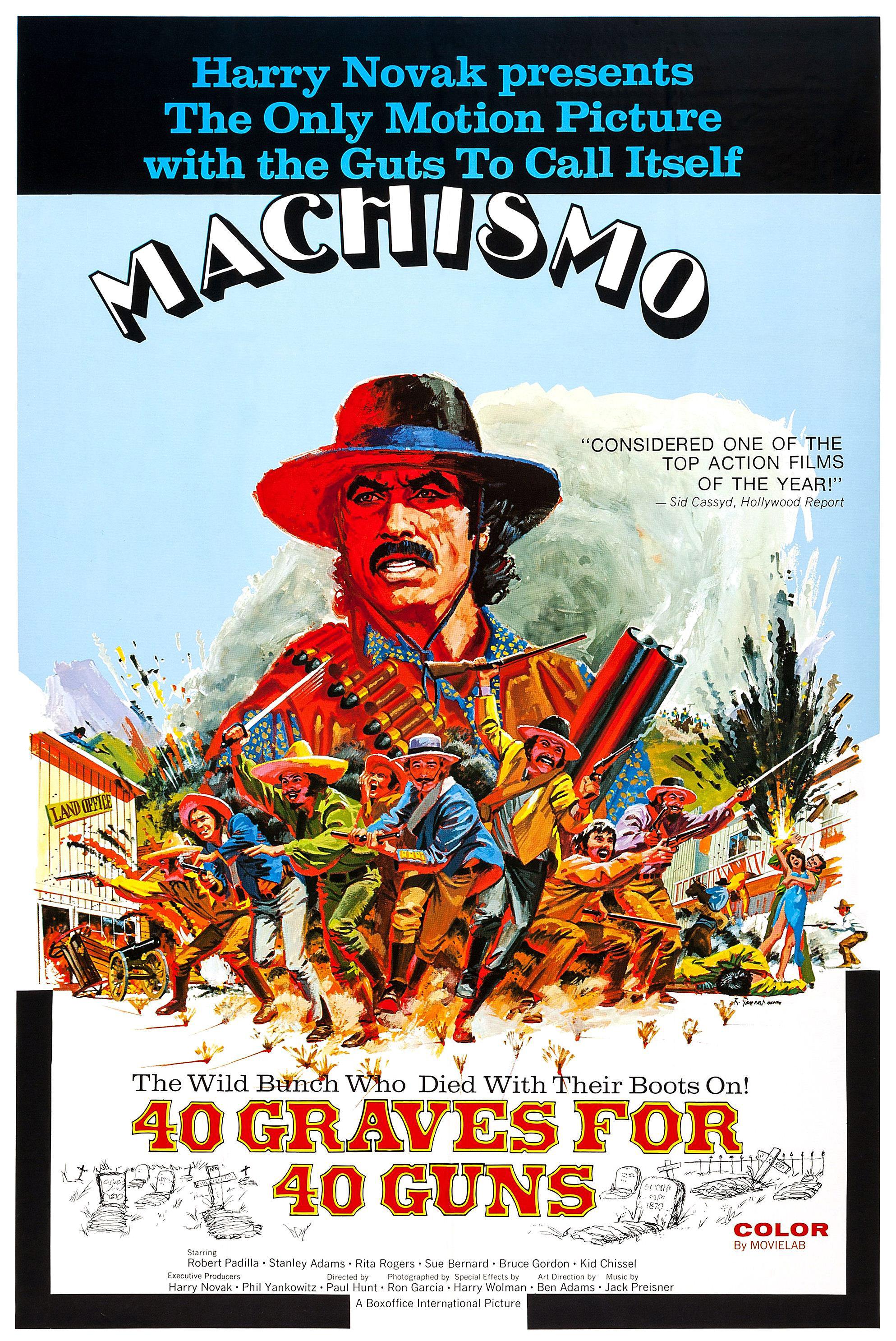 Machismo - 40 Graves for 40 Guns (1971)