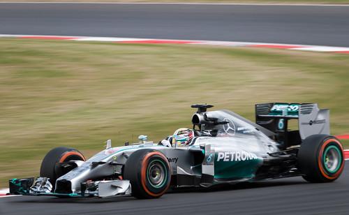 Equipe Mercedes GP de Formula 1 de  2014 - by Jake Archibald