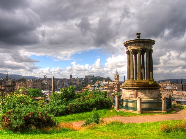 Calton Hill в Эдинбурге loverme