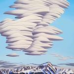 Tracy Felix; Mount Elbert; Oil on panel;  67x49; 2014; Courtesy of William Havu Gallery, Denver -