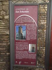 Photo of Alminar de San Sebastian red plaque