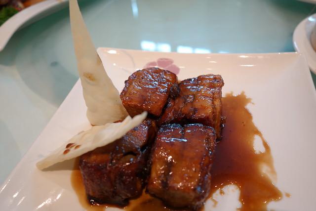 "Braised Pork Ribs with ""Zhen Jiang"" Vinegar - Man Fu Yuan's 19th Anniversary Menu"