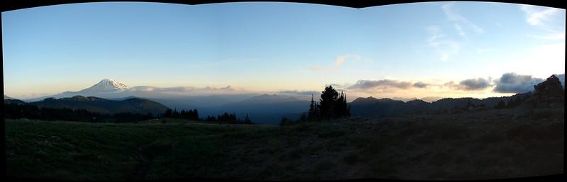 Goat Rocks - Mt. Adams sunset