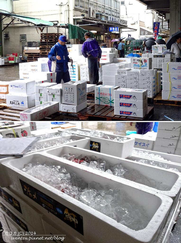 20日本東京築地市場