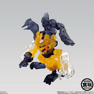 無限擴充的改造機器人再度登場!破幻のzista 第二彈