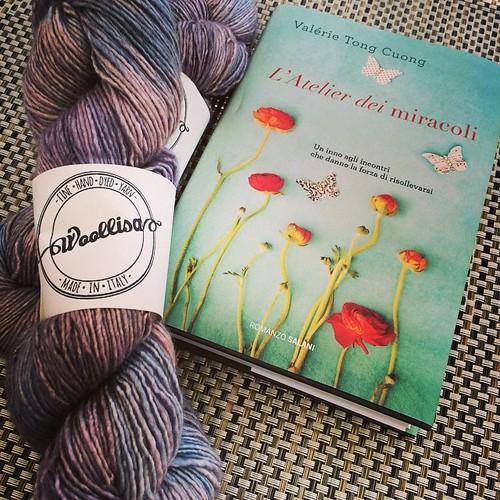 New book new yarn :) Nuovo libro nuovi filati :)