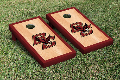 Boston College Eagles Cornhole Game Set Hardcourt