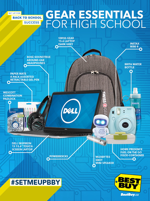 Win a Backpack Stuffed with Back-to-School Essentials (Including a Laptop!) from Best Buy