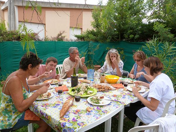 féjeuner au jardin