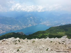 Sul Monte Altissimo (2078m) dal versante di Nago (7/7/2014)
