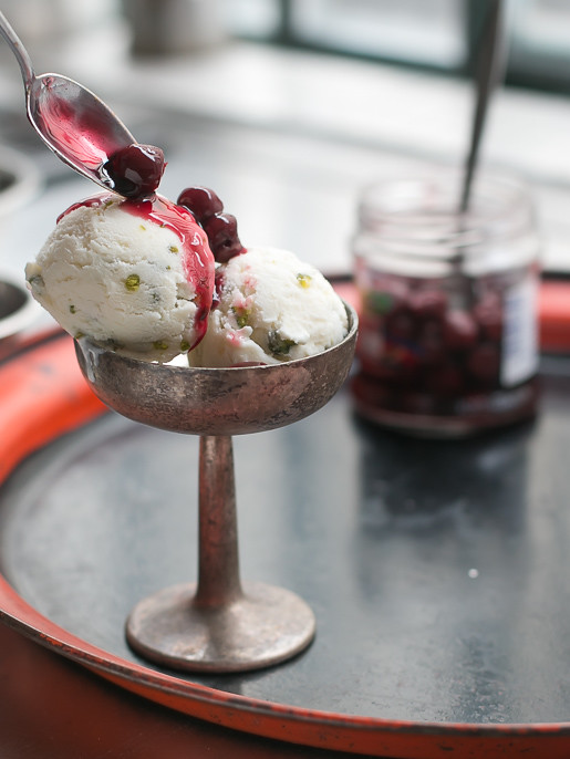 Ricotta ice cream recipe