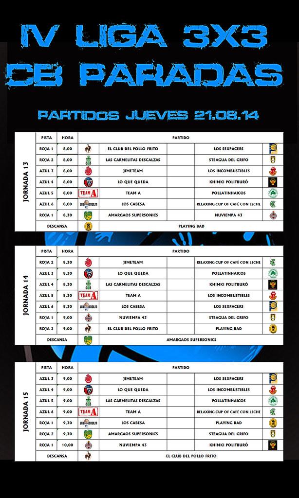 PARTIDOS DIA 05