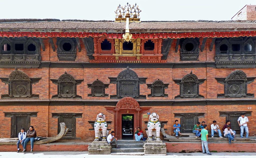 Nepal - Kathmandu - Kumari Ghar - Temple Of The Living Goddess - 12