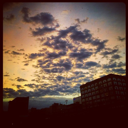 Good evening from downtown Cincinnati...