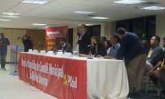Plenária no RJ