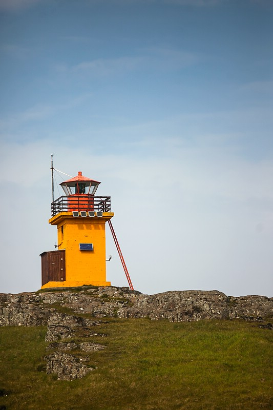 Lighthouse at Papey Island