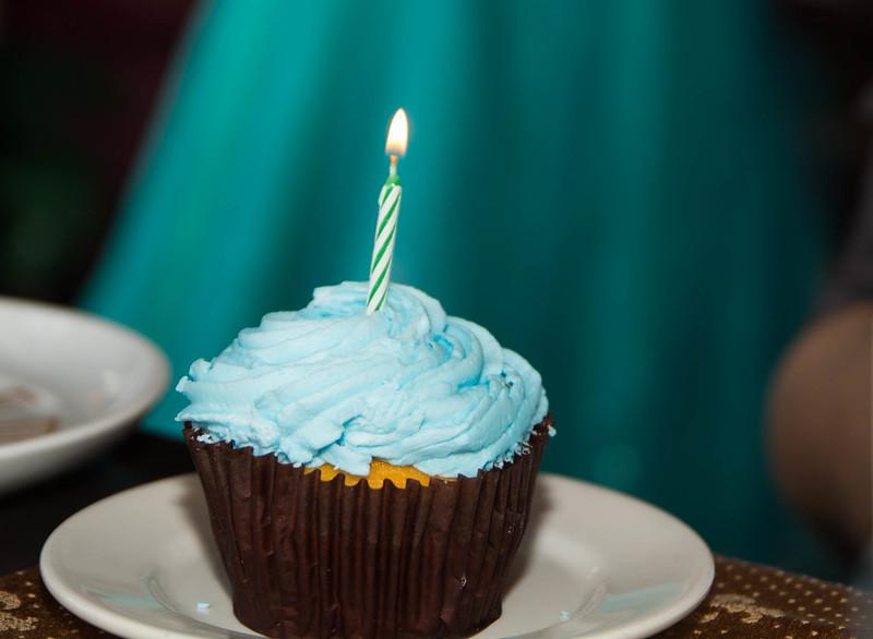 CRT Birthday Cupcake