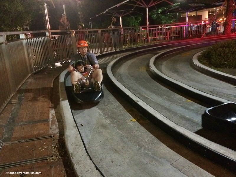 So Oddly Dreamlike | Mom Blogger on Parenting and Living in Singapore | Skyline Luge Sentosa