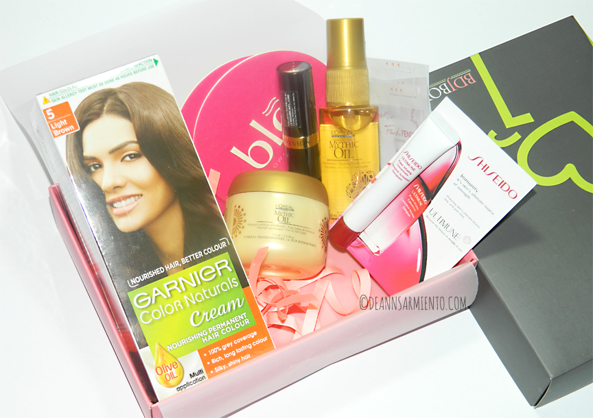 Unboxing August BDJBox 2014 Luscious Locks