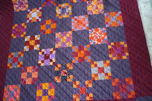 diagonal quilting